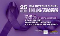 25 DE NOVIEMBRE. DIA INTERNACIONAL CONTRA LA VIOLENCIA DE GENERO