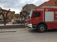 El servicio de extinción de incendios y salvamento (SEIS) de la Comarca de la Litera se une a la labores de desinfección