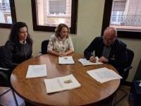 Firmado el convenio de colaboración entre el Gobierno de Aragón y la Comarca para el Sellado del Vertedero comarcal