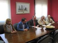 Firmado el Convenio de Colaboración entre la Cámara de Comercio de Huesca y la Comarca de la Litera/la Llitera para la prestación de servicios de desarrollo socioeconómico de la Comarca de la Litera