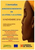 I JORNADAS AFRODESCENDIENTES EN LA LITERA / LA LLITERA