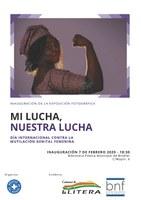 """INAUGURACIÓN DE LA EXPOSICIÓN FOTOGRÁFICA """"MI LUCHA, NUESTRA LUCHA"""". DÍA INTERNACIONAL CONTRA LA MUTILACIÓN GENITAL FEMENINA"""