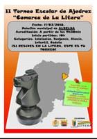 "II Torneo Escolar de Ajedrez ""Comarca de la Litera/la Llitera"""