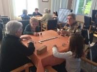 Intercambio generacional en la Residencia Comarcal de Personas Mayores