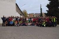 IX Marcha senderista comarcal realizada el día 20 de noviembre de 2016