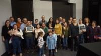 La Comarca de la Litera estuvo presente en la presentación del calendario solidario presentado por la Asociación Down Huesca