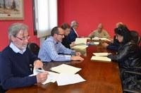 La Comarca de la Litera firma con los Ayuntamientos el convenio para las escuelas infantiles