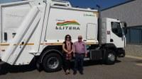 La Comarca de la Litera/la Litera cuenta con un nuevo camión de basuras