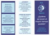 """Los Servicios Sociales de la Comarca de la Litera/La Llitera presentan Proyecto """"AGILMENTE"""""""
