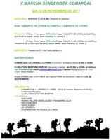X MARCHA SENDERISTA COMARCAL